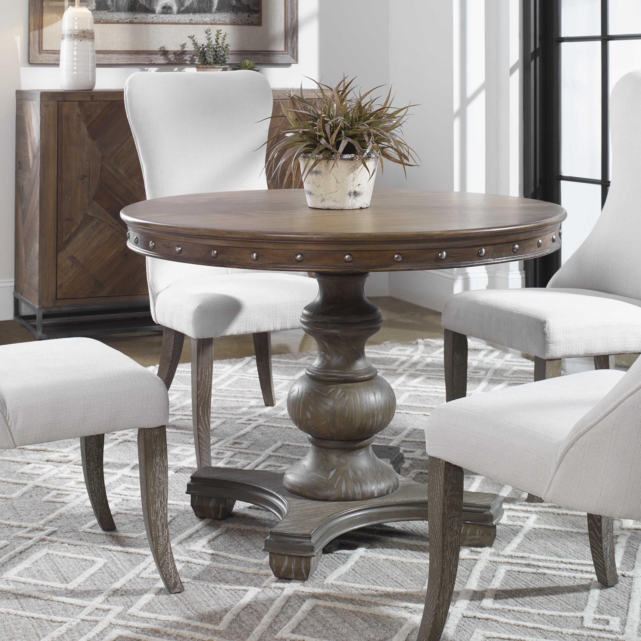 Sylvana Dining Table Uttermost, Uttermost Dining Room Tables