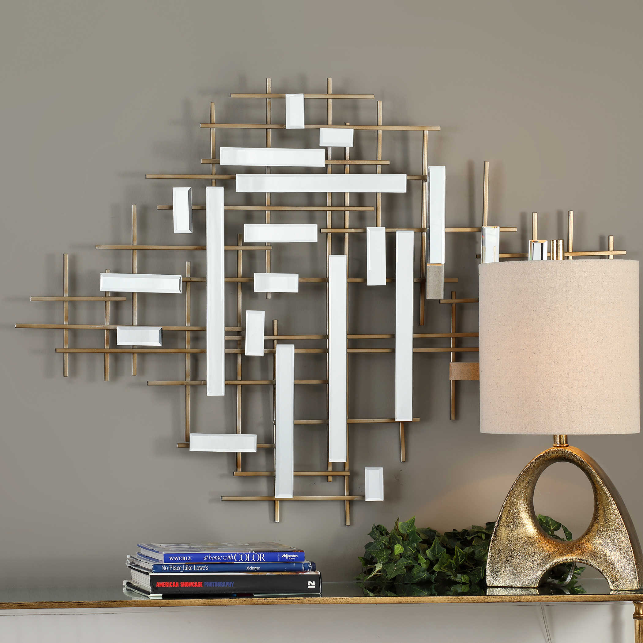 Apollo Mirrored Wall Decor Uttermost