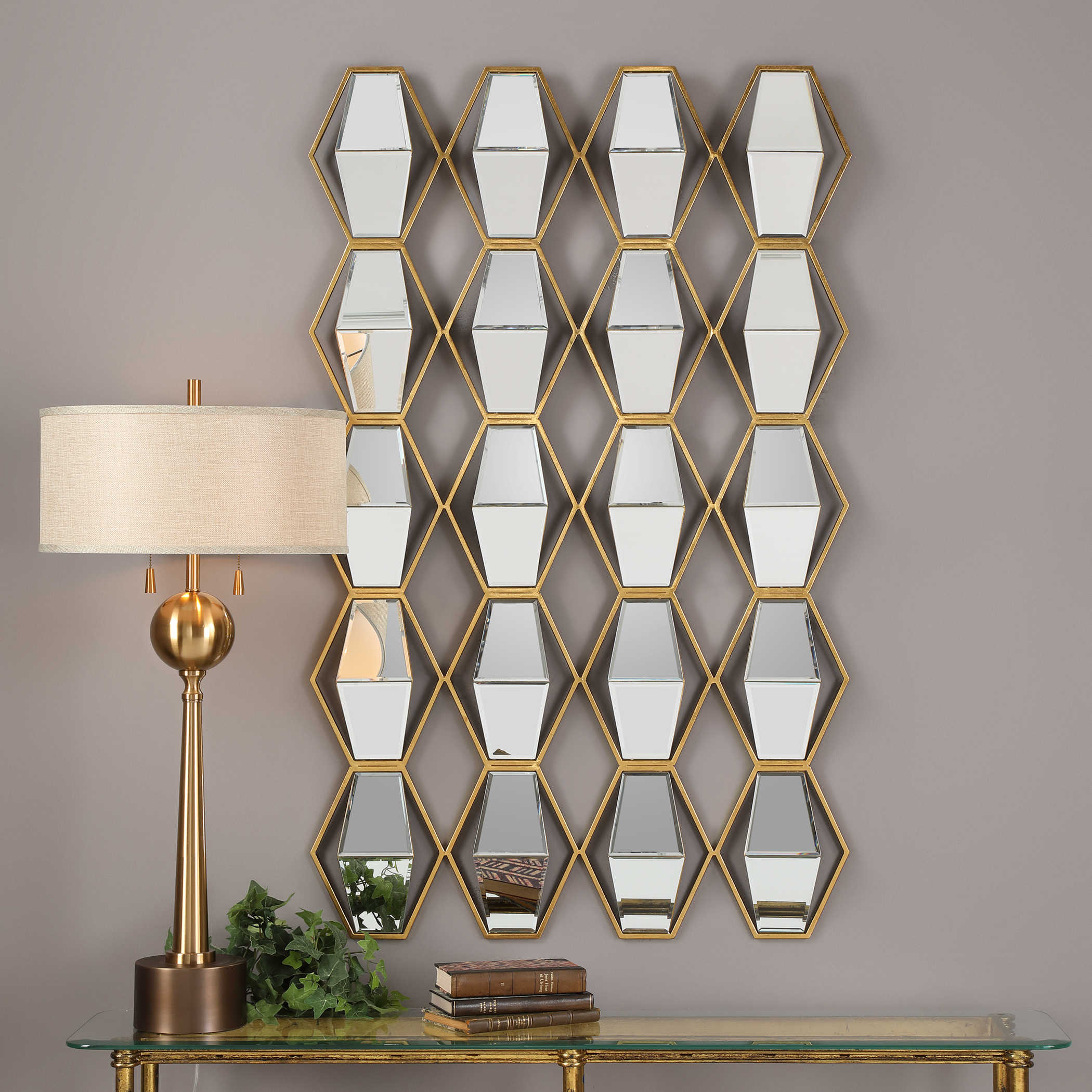 Jillian Mirrored Wall Decor Uttermost