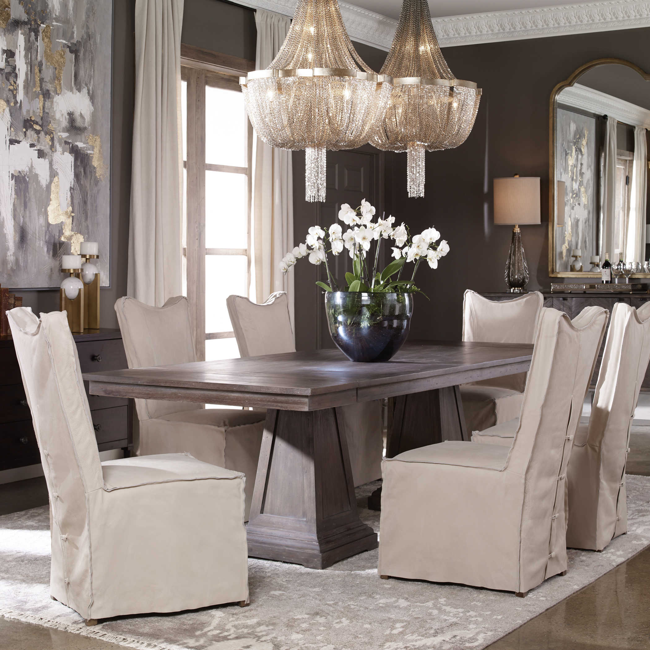 Royce Extension Dining Table 2 Cartons