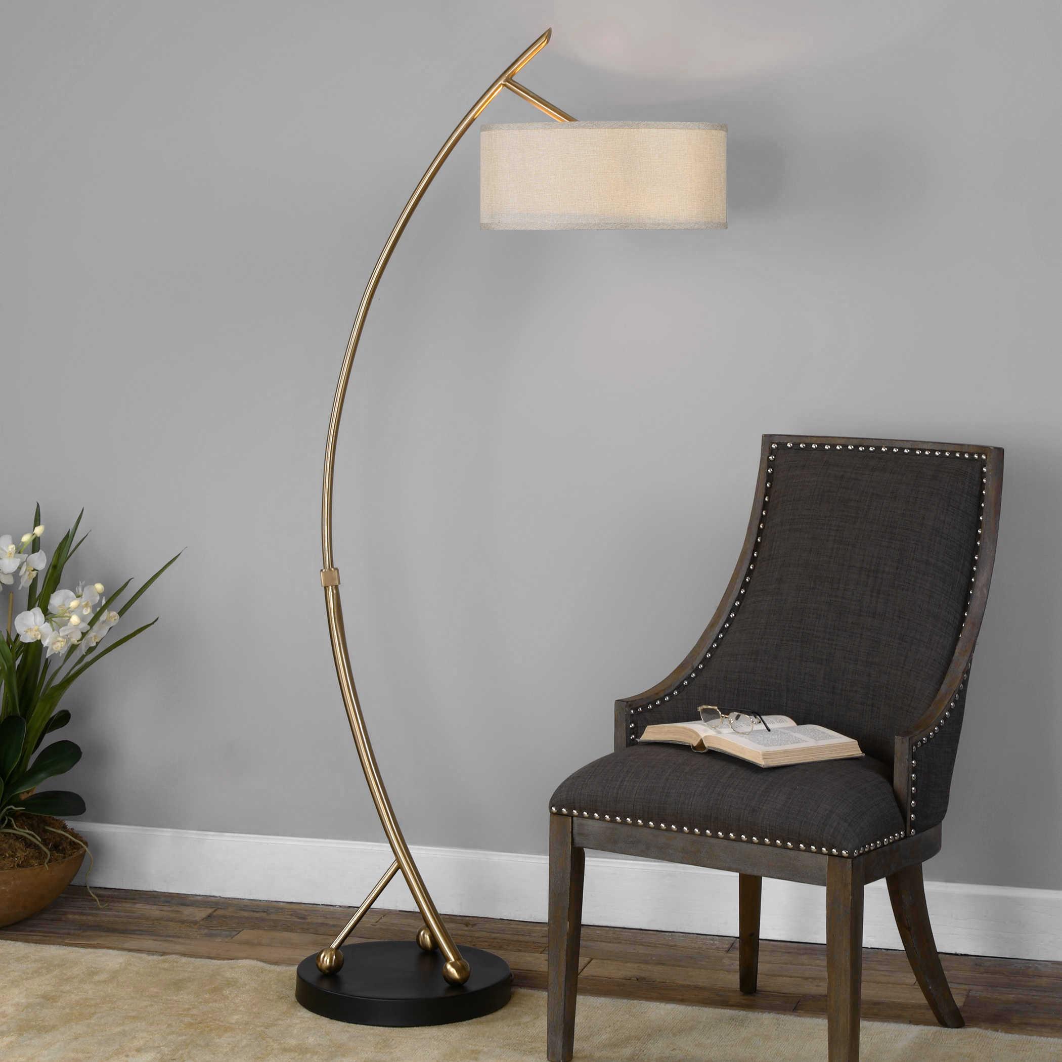 Vardar Floor Lamp Uttermost