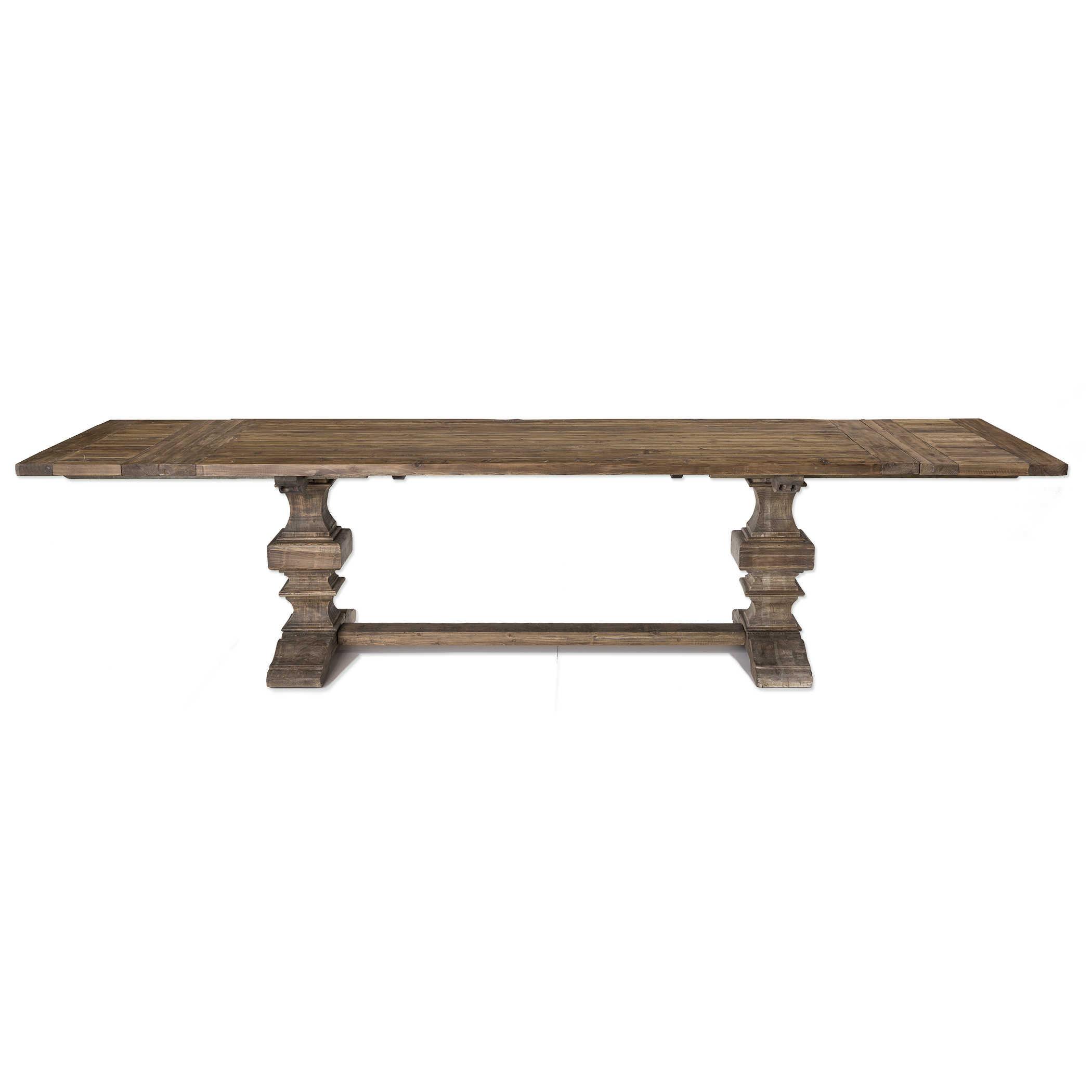 Baldrick Extension Dining Table Uttermost, Uttermost Dining Room Tables