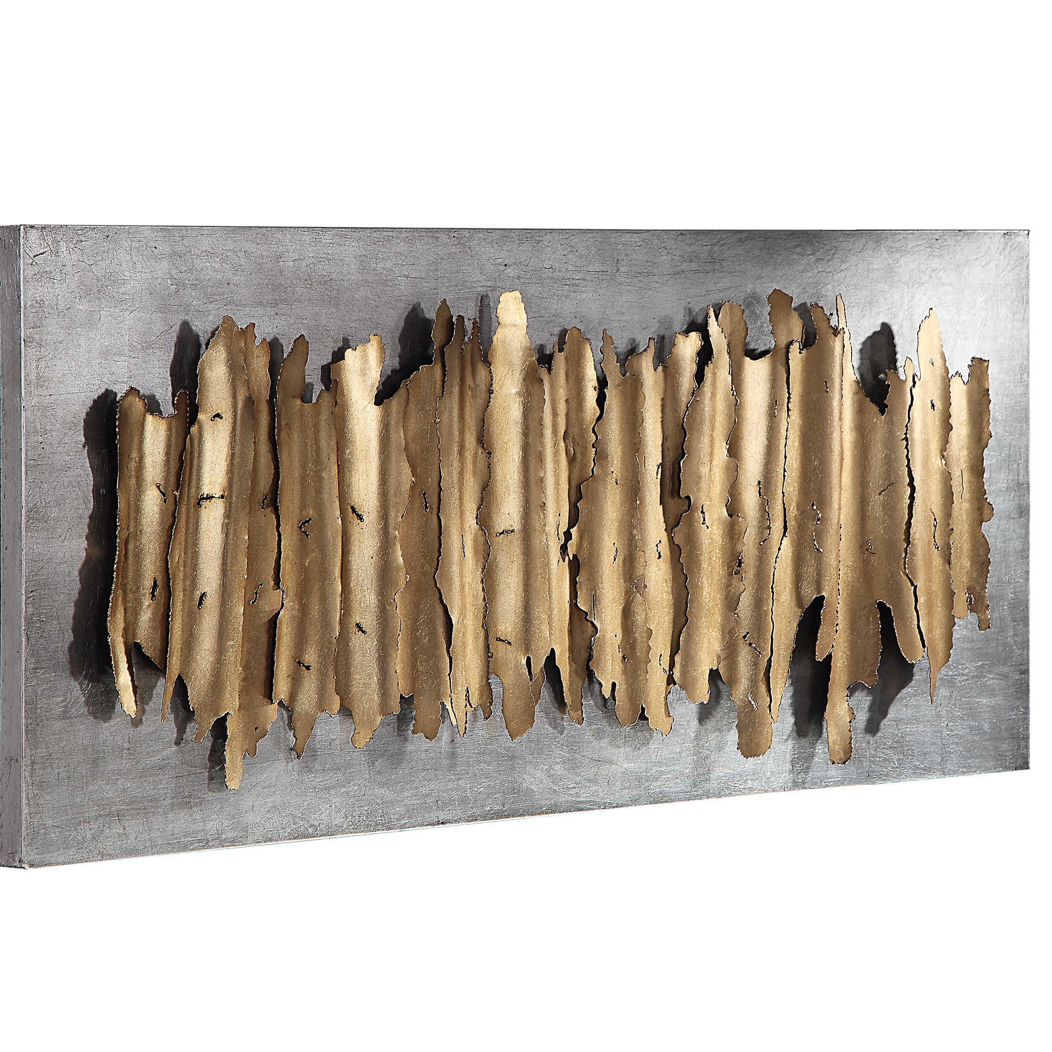 Uttermost Lev Gold Metal Wall Decor