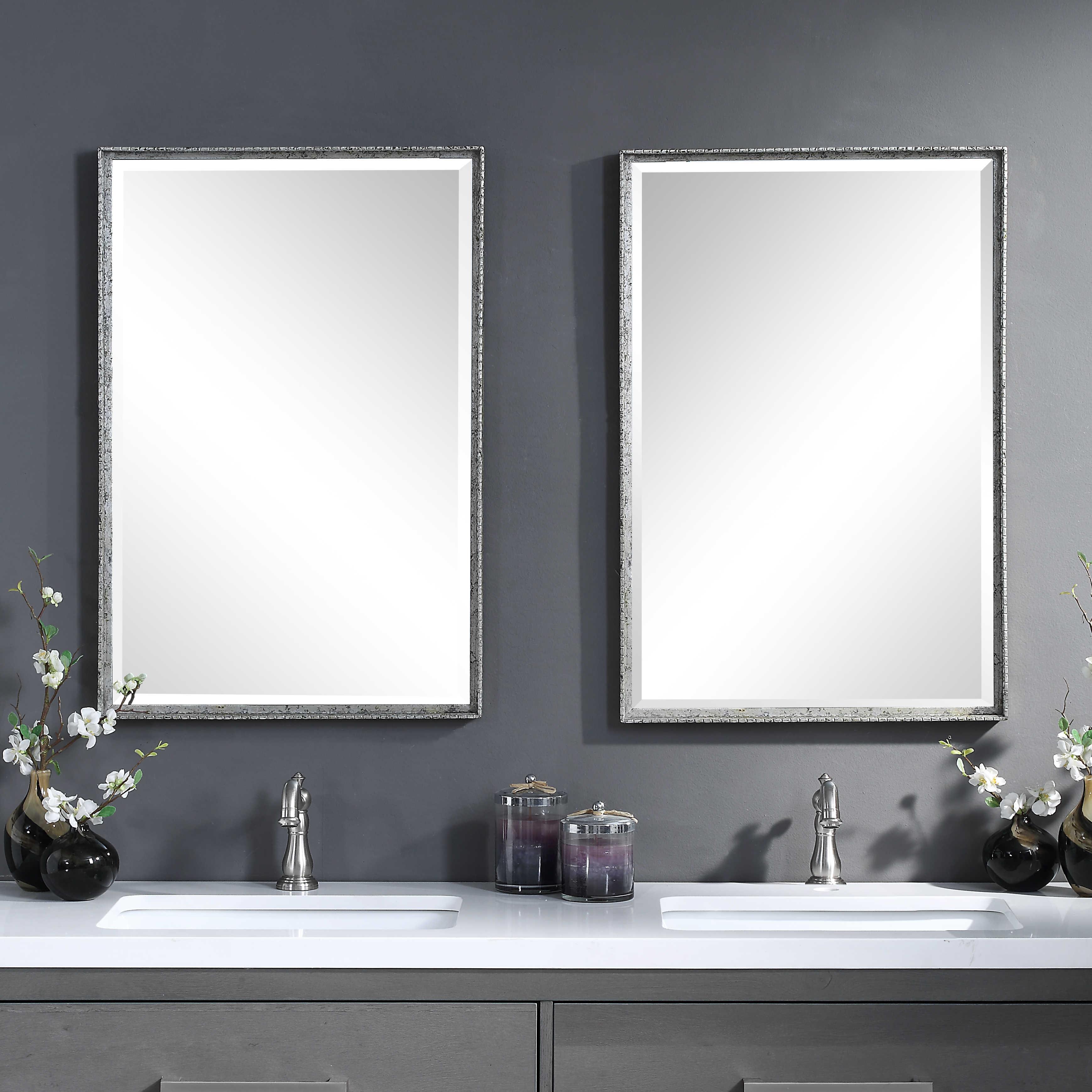 Uttermost Callan Silver Vanity Mirror