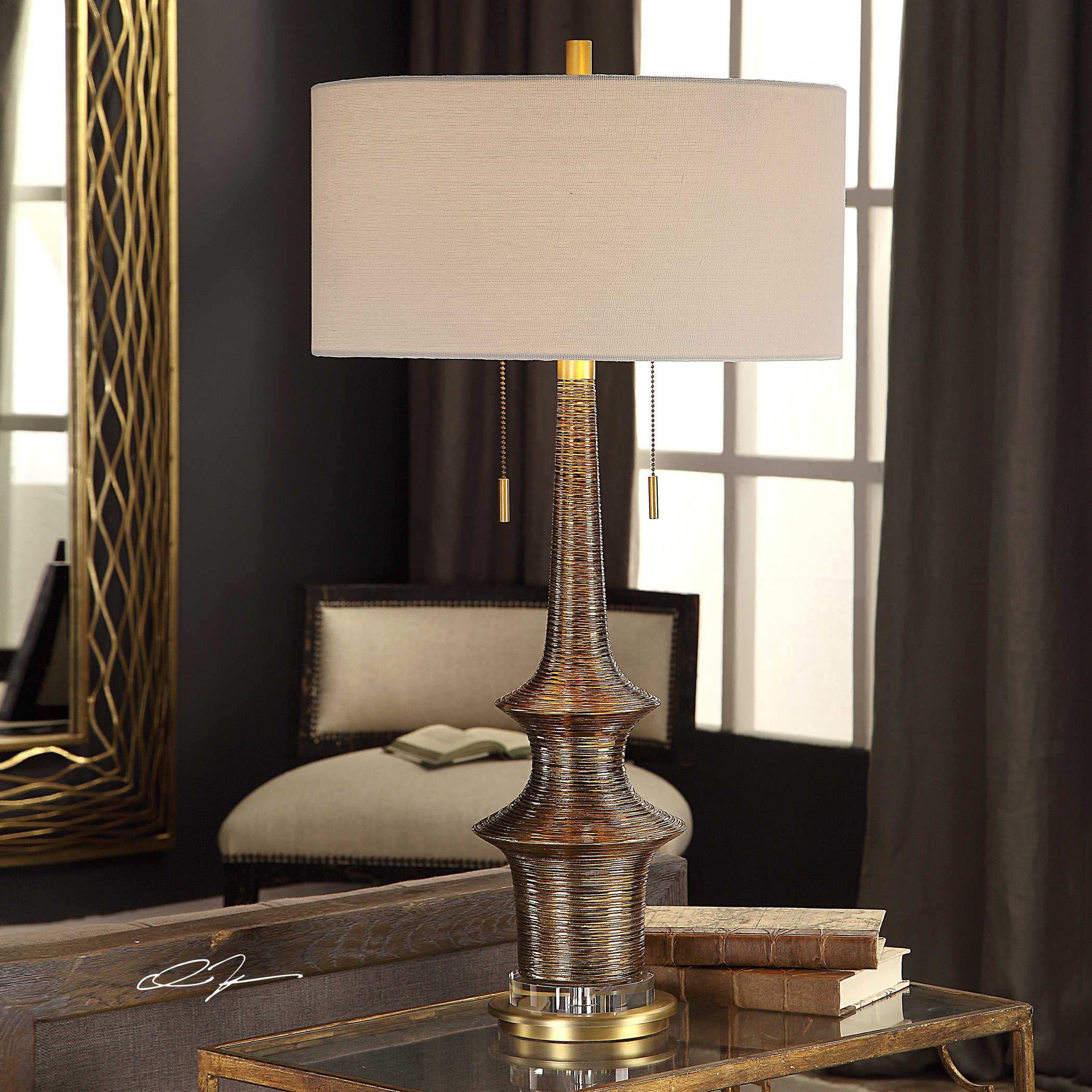 Galatea Table Lamp Uttermost