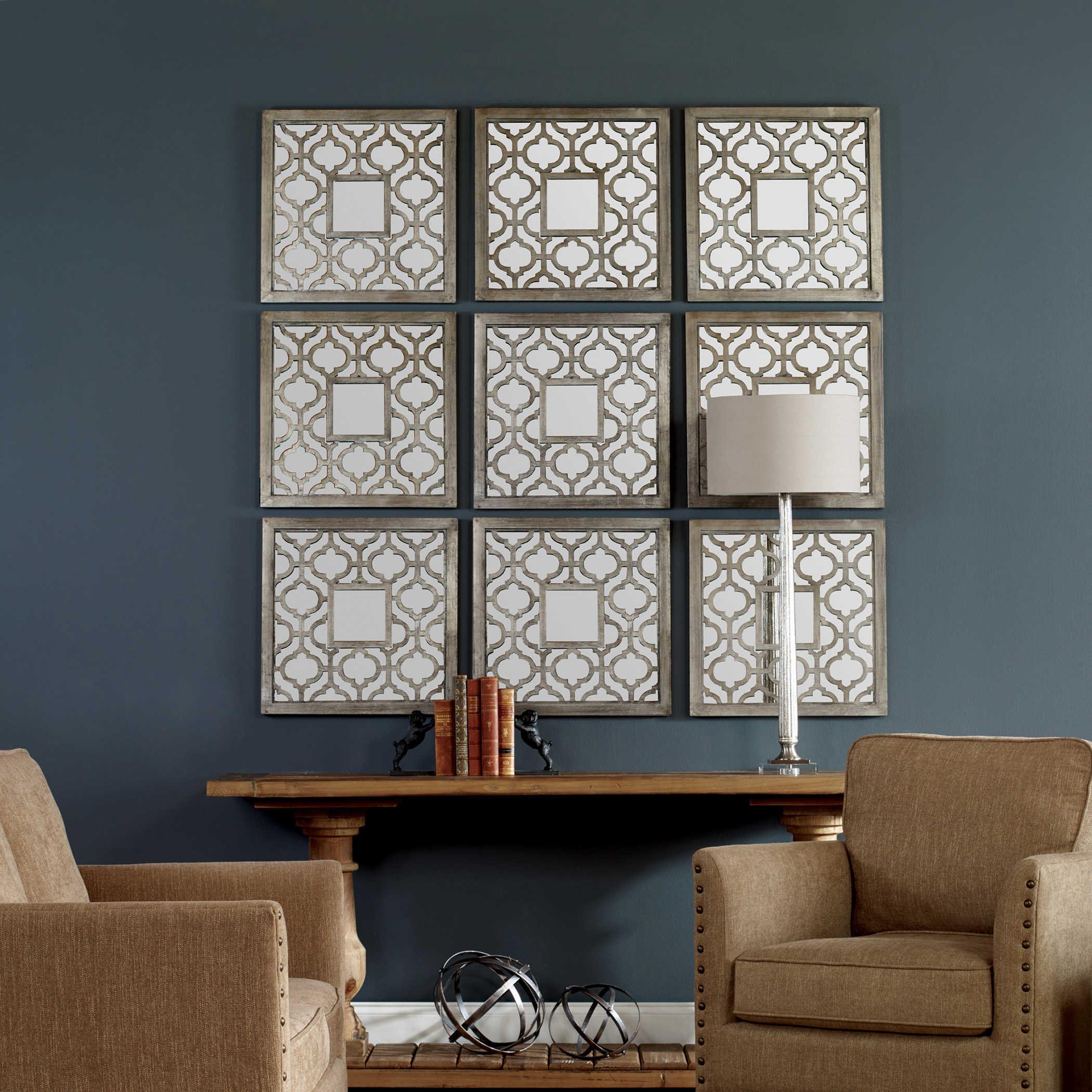 Sorbolo Mirrored Wall Decor S 2