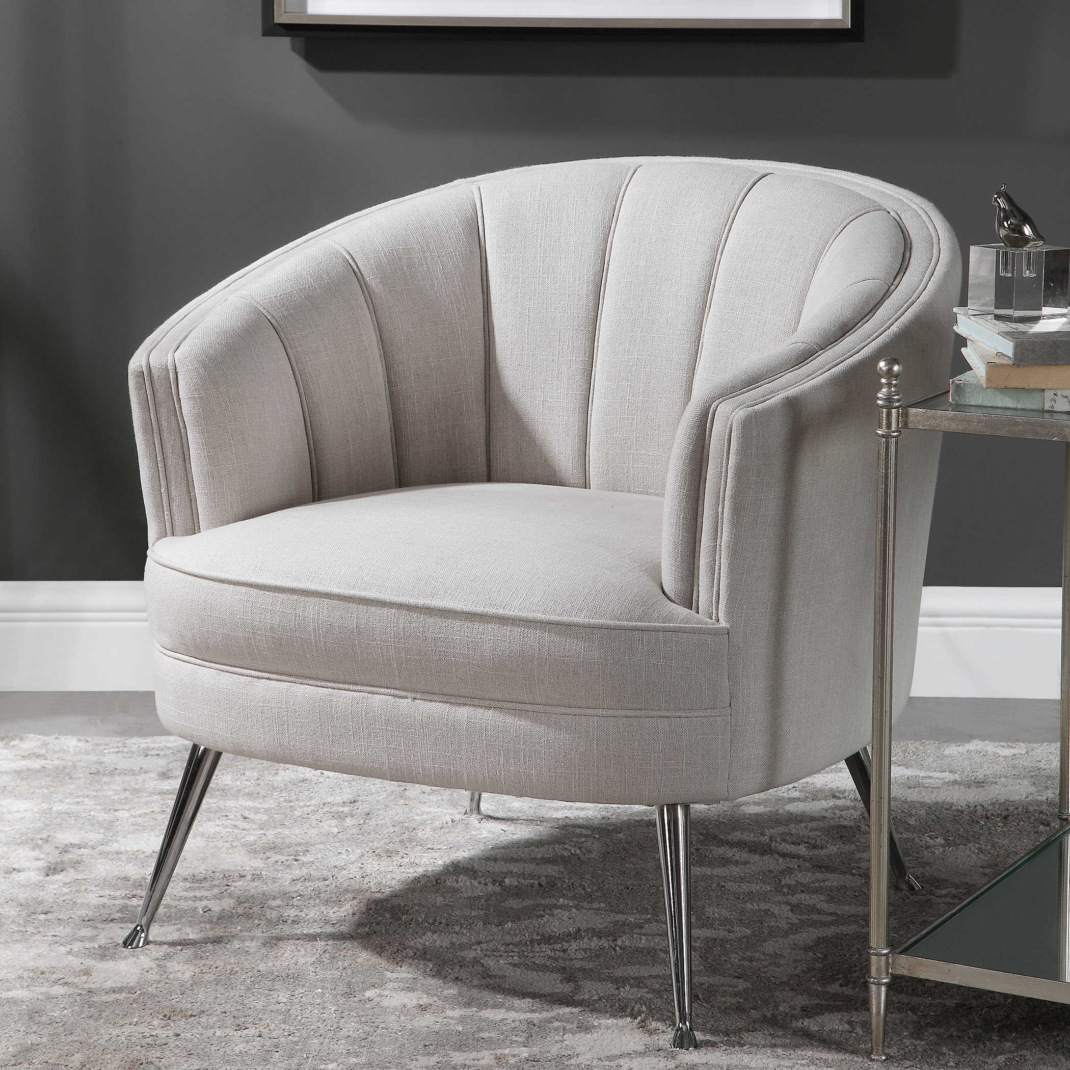 Super Janie Accent Chair Bralicious Painted Fabric Chair Ideas Braliciousco
