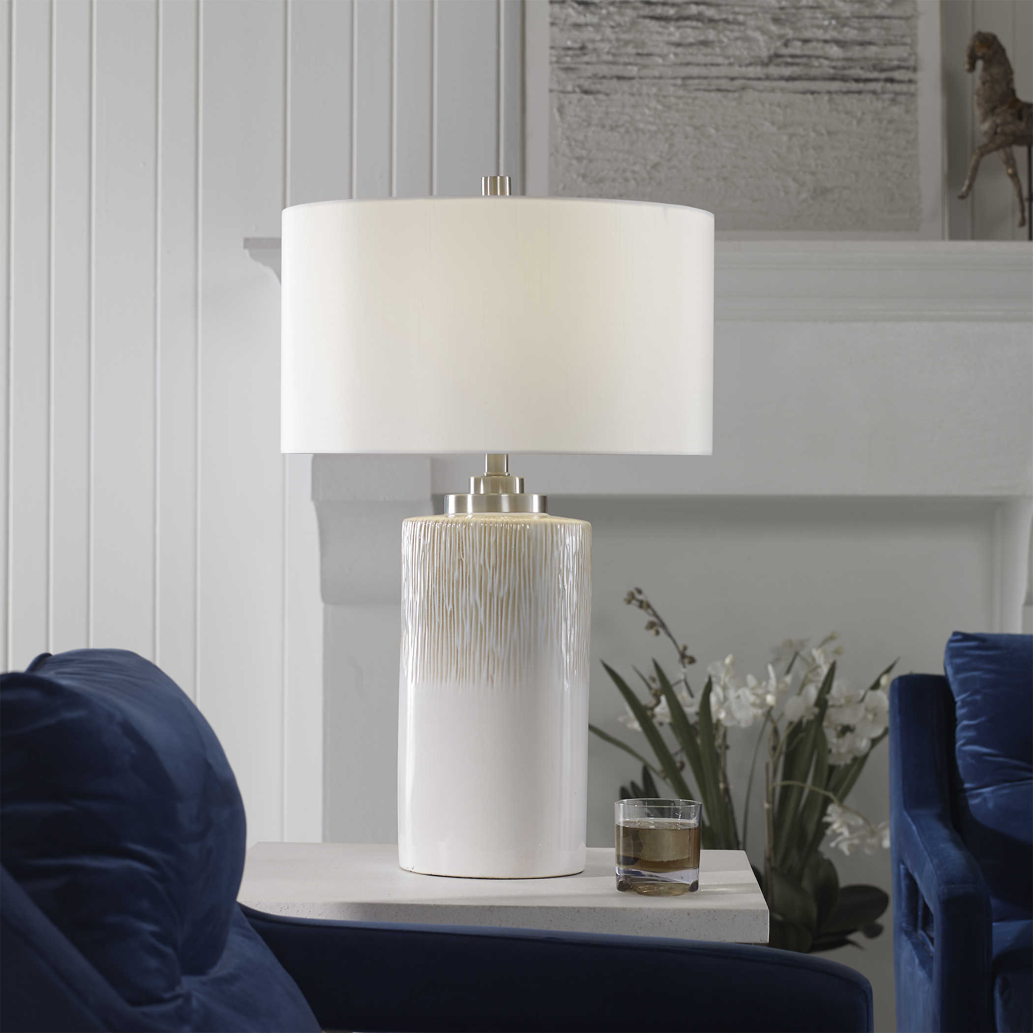 Georgios Cylinder Table Lamp Uttermost