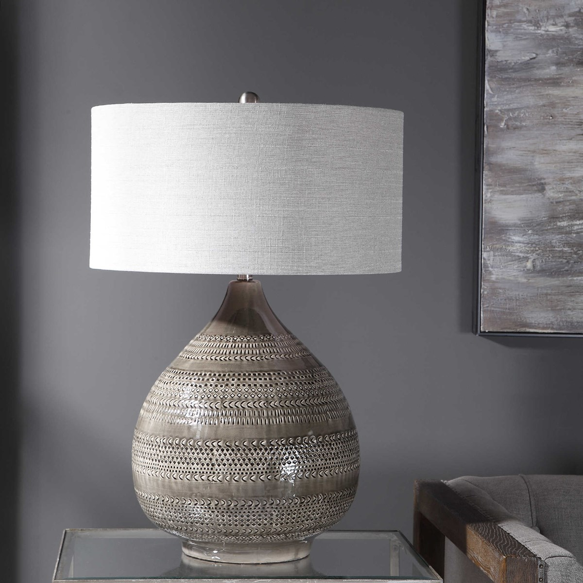 Batova Grand Table Lamp Uttermost