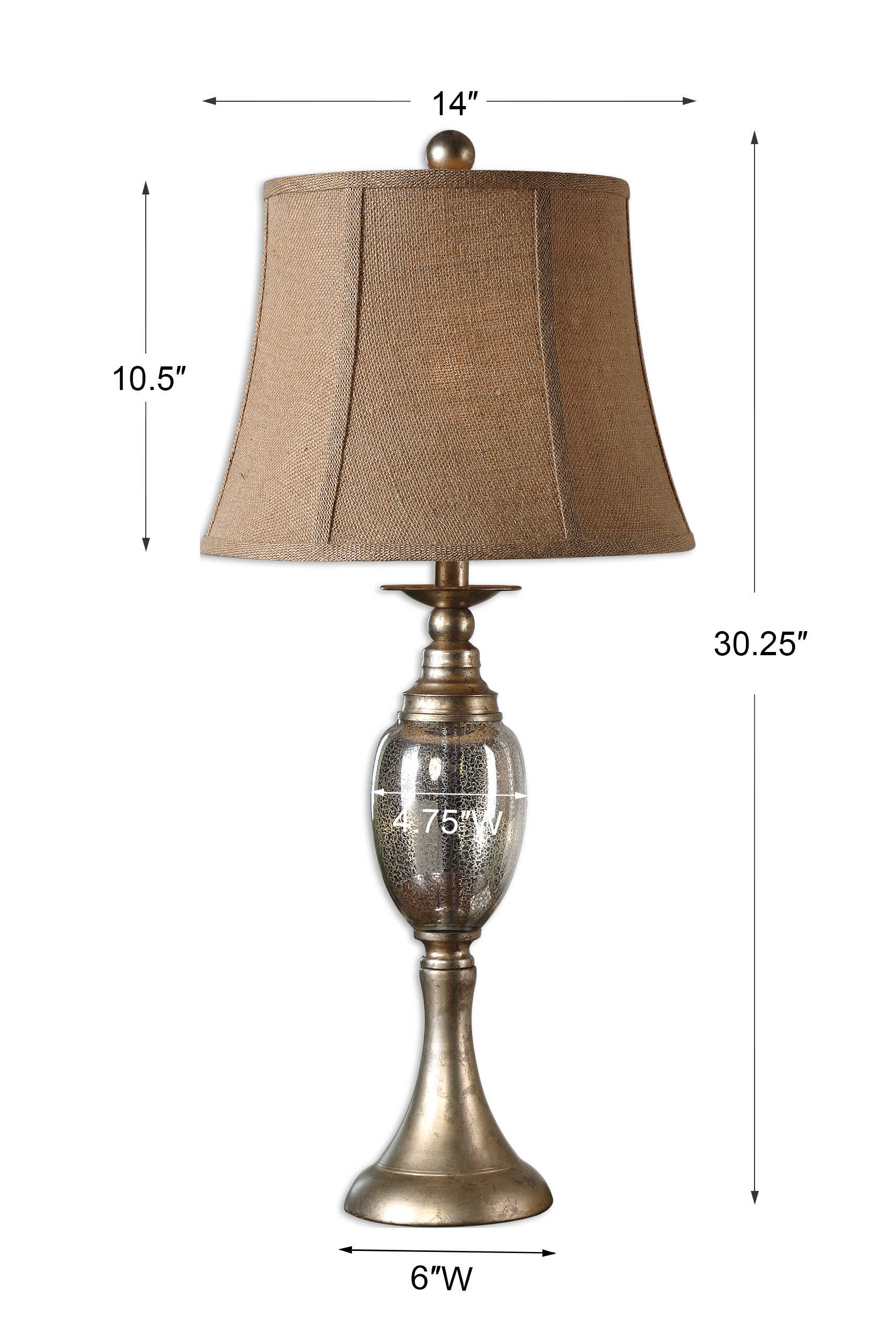 Barcelos Table Lamp 2 Per Box Uttermost