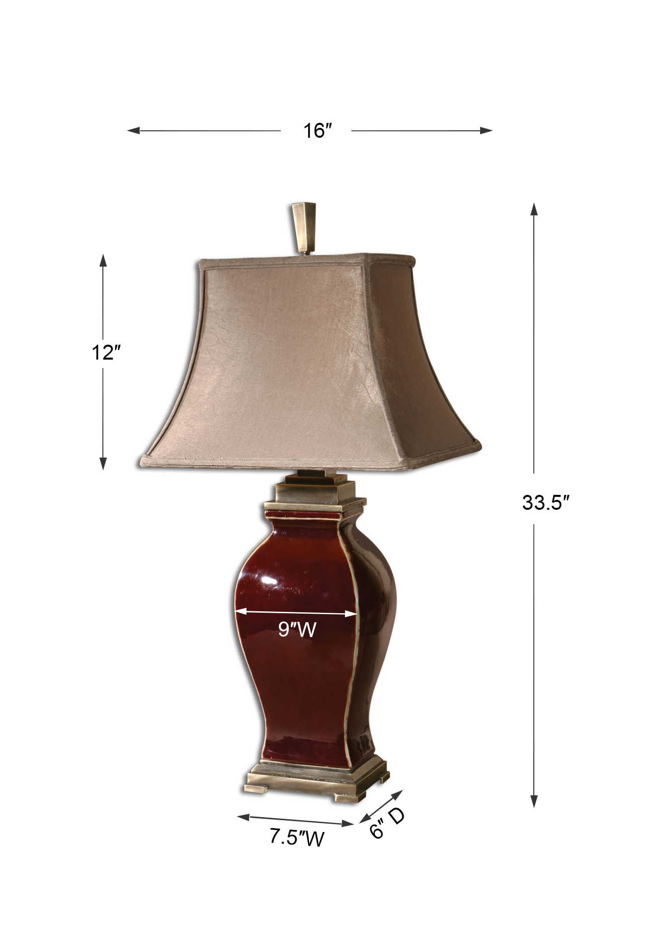Rory Table Lamp Uttermost