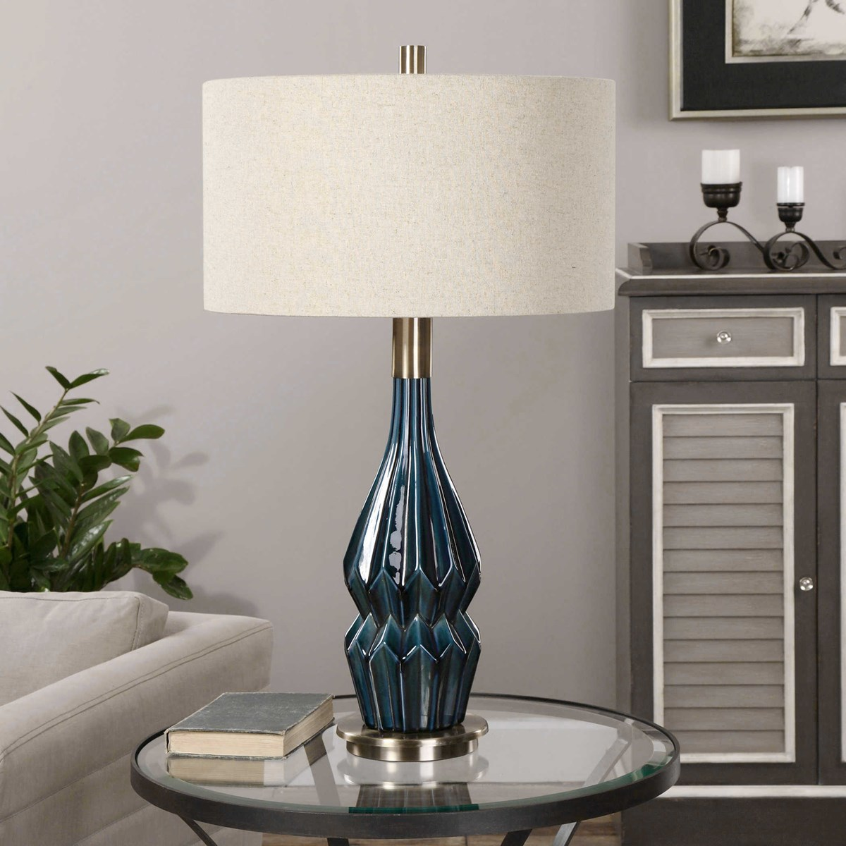 Prussian Table Lamp Uttermost