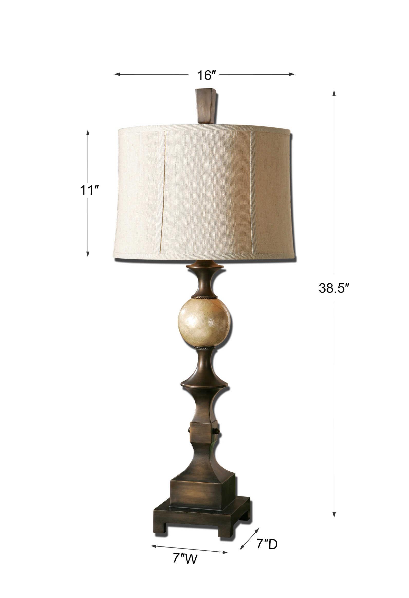 Tusciano Table Lamp Uttermost