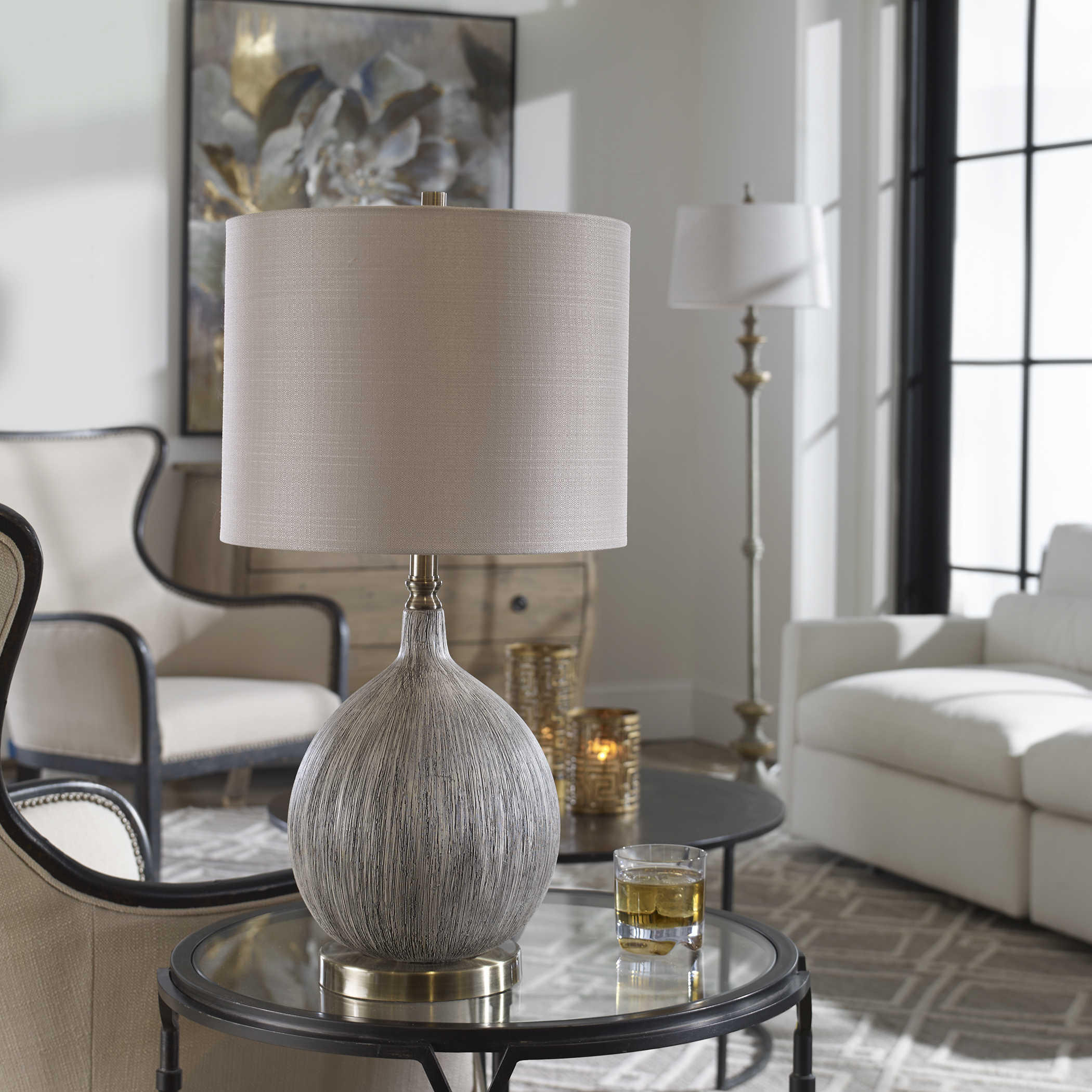 Hedera Table Lamp Uttermost