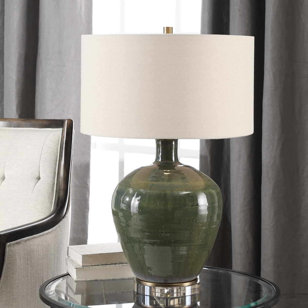 Elva Table Lamp Uttermost