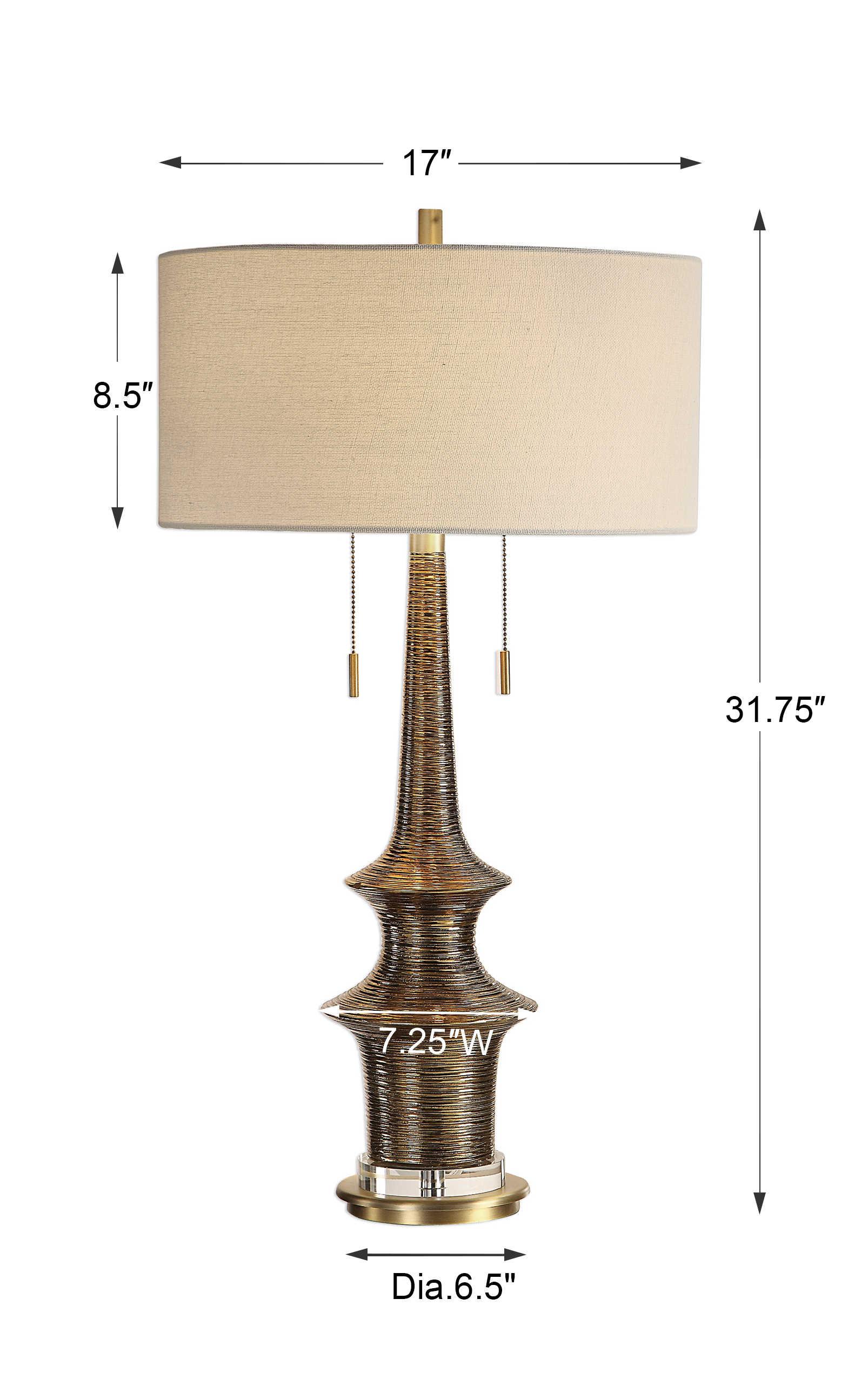 Galatea Table Lamp Uttermost