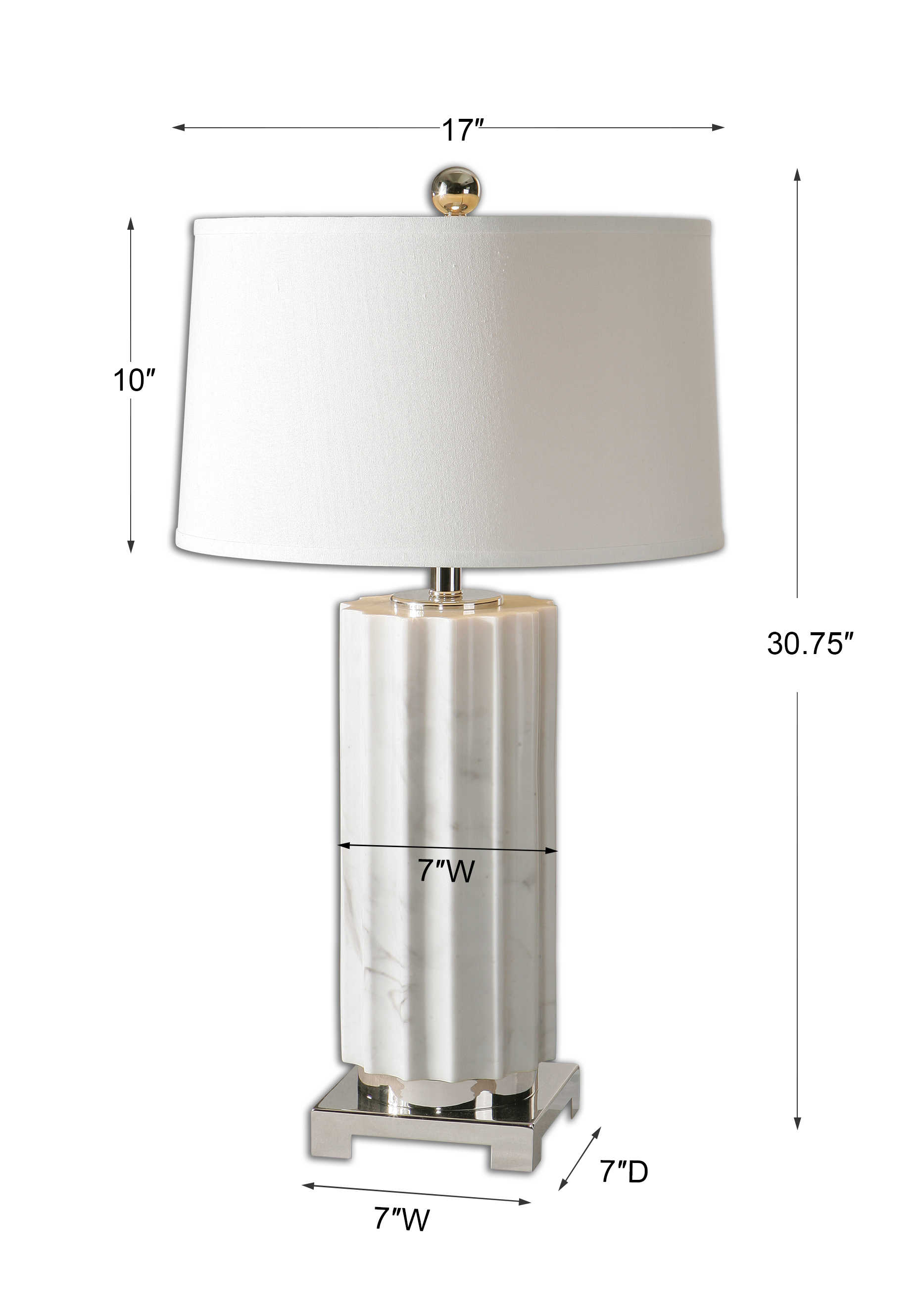 Castorano Table Lamp Uttermost