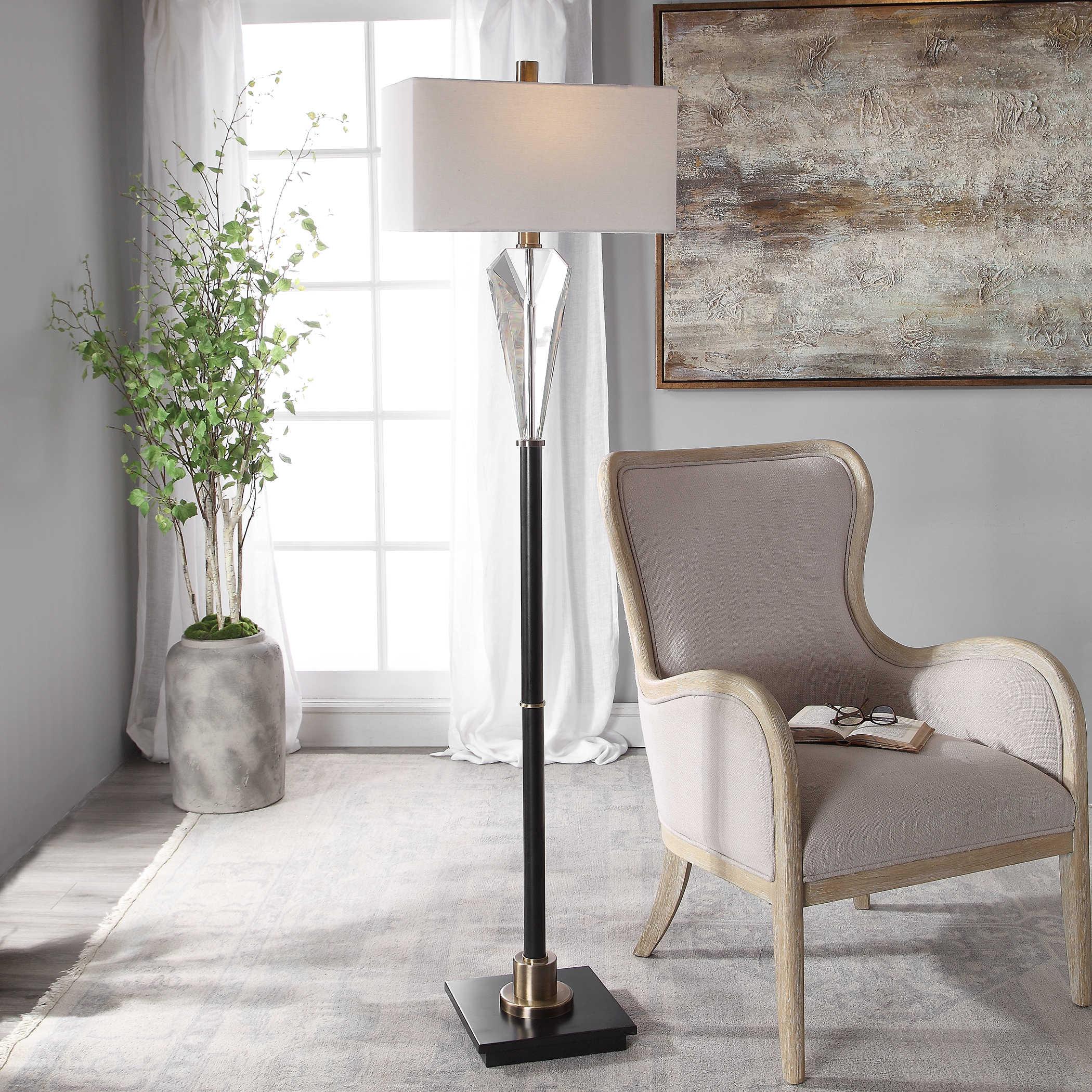 Uttermost Cora Contemporary Floor Lamp