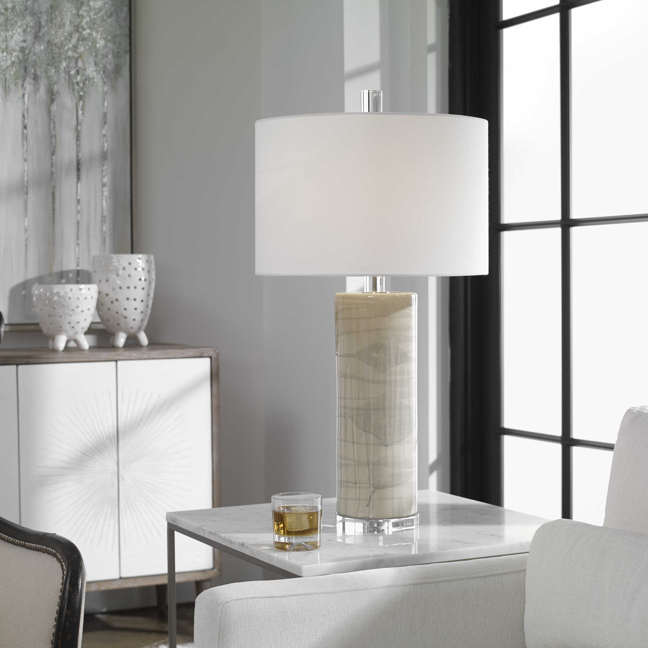 Uttermost Zesiro Modern Table Lamp