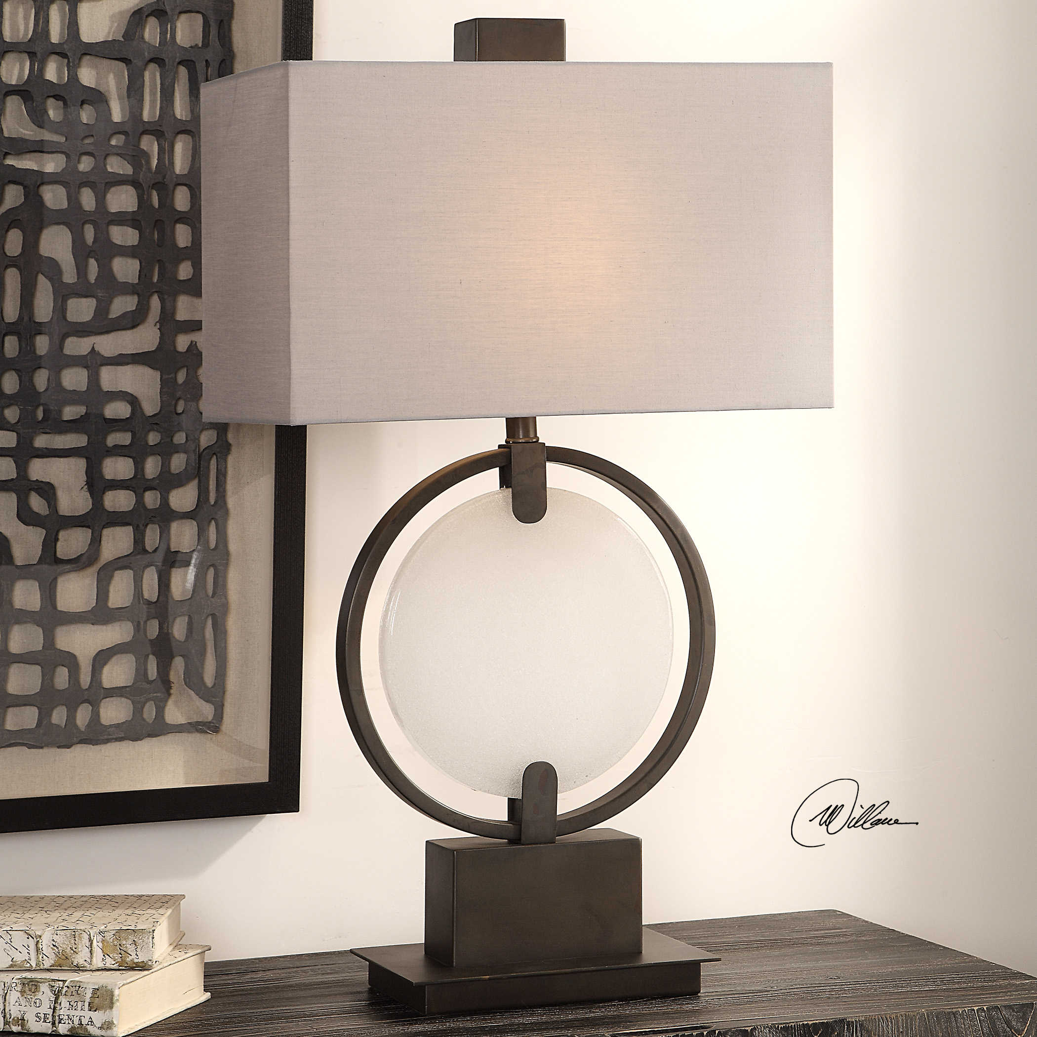 Ames Table Lamp Uttermost