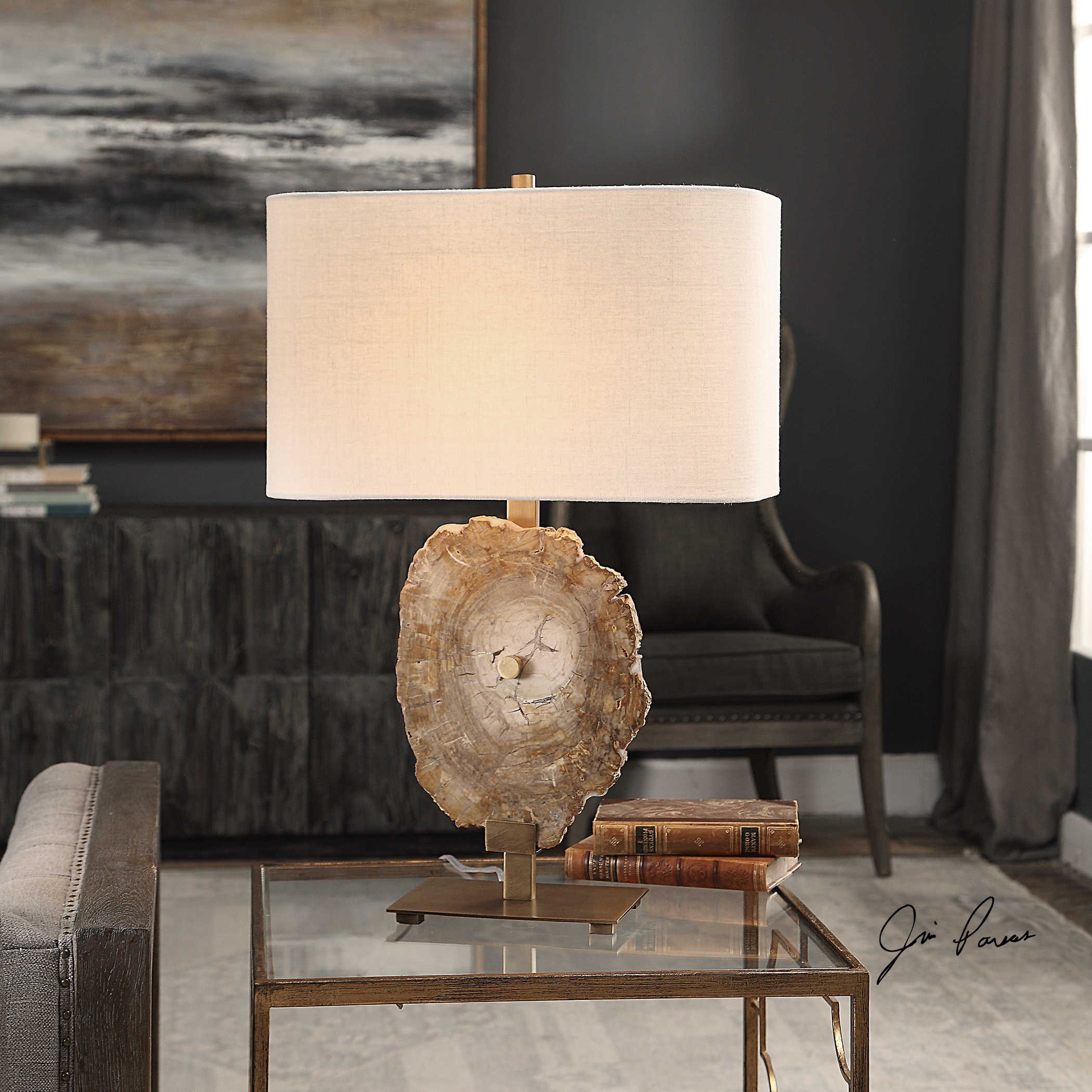 Triassic Table Lamp Uttermost