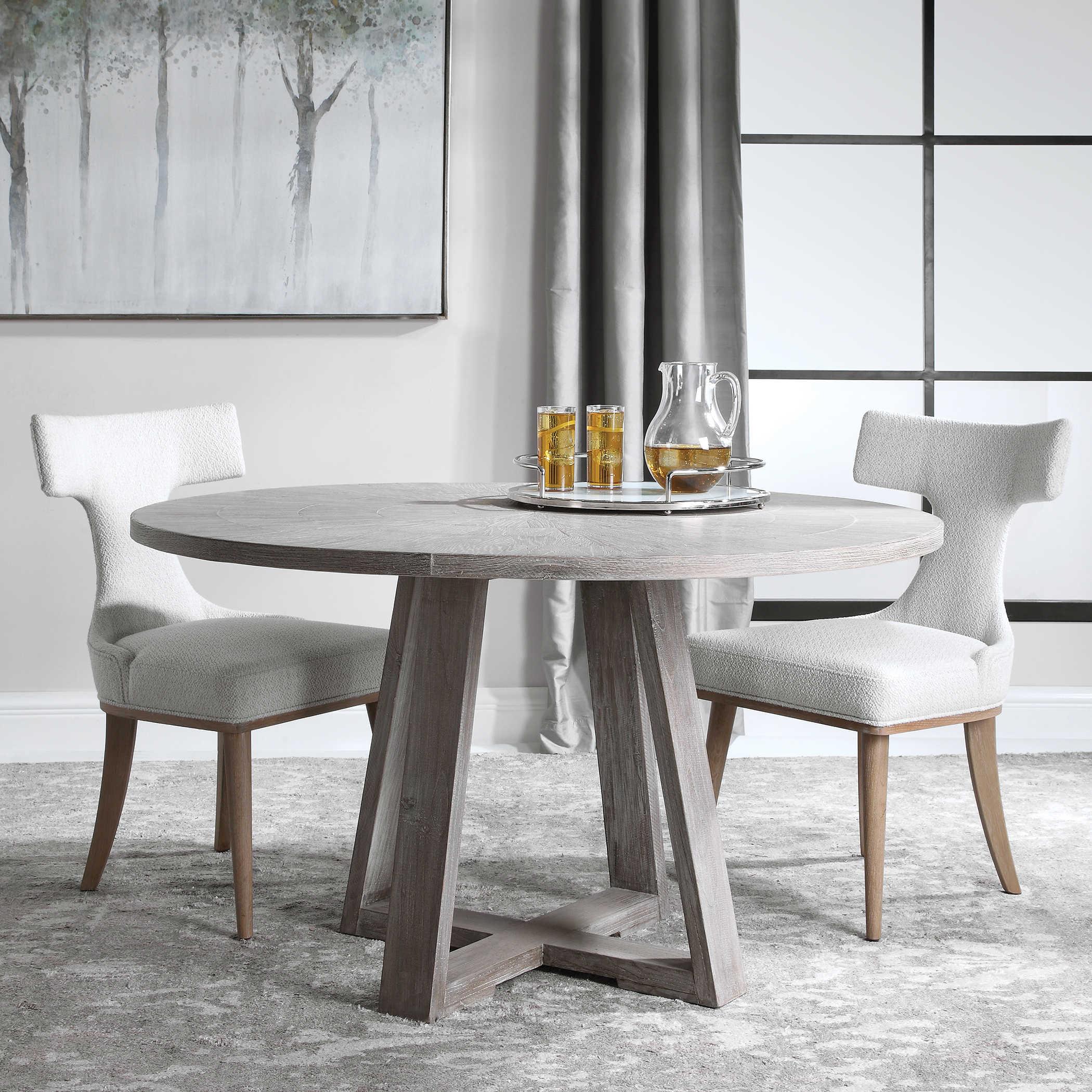 Gidran Dining Table Uttermost, Uttermost Dining Room Tables