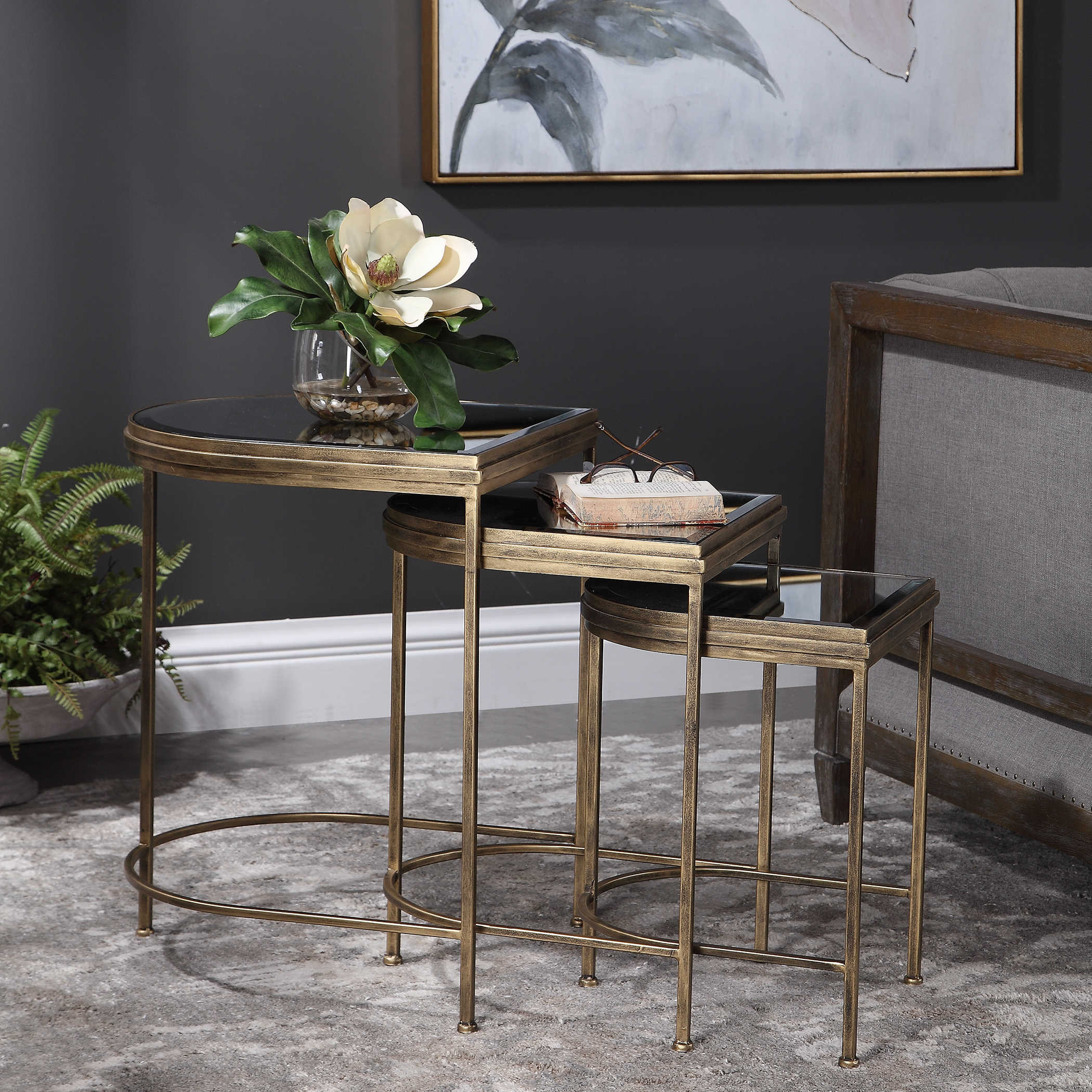 India Nesting Tables S 3 Uttermost