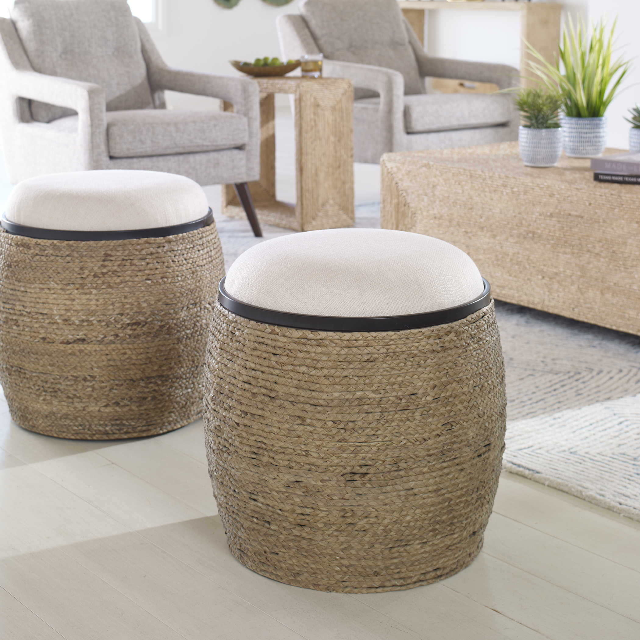 Island Accent Stool Uttermost
