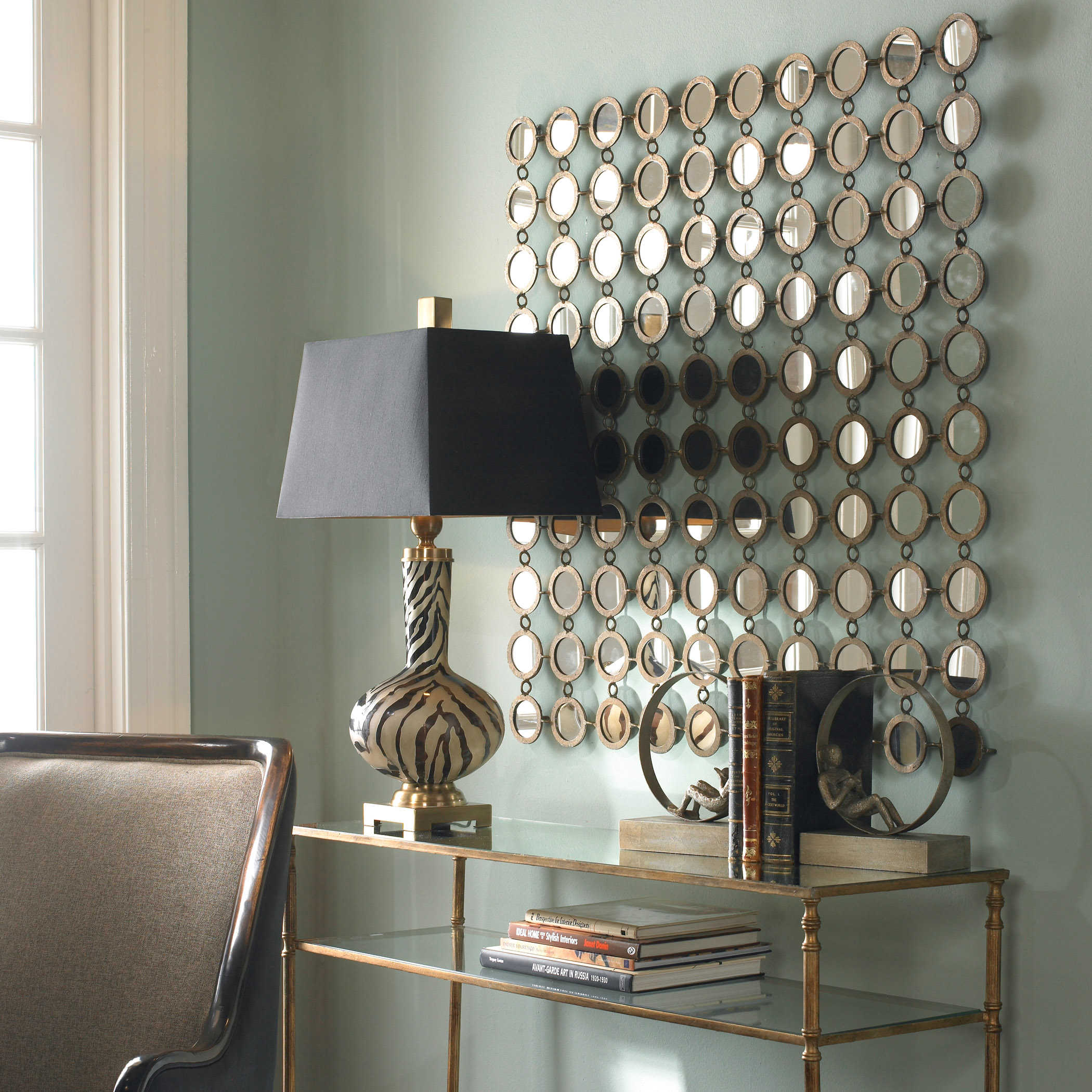 Dinuba Mirrored Wall Decor Uttermost