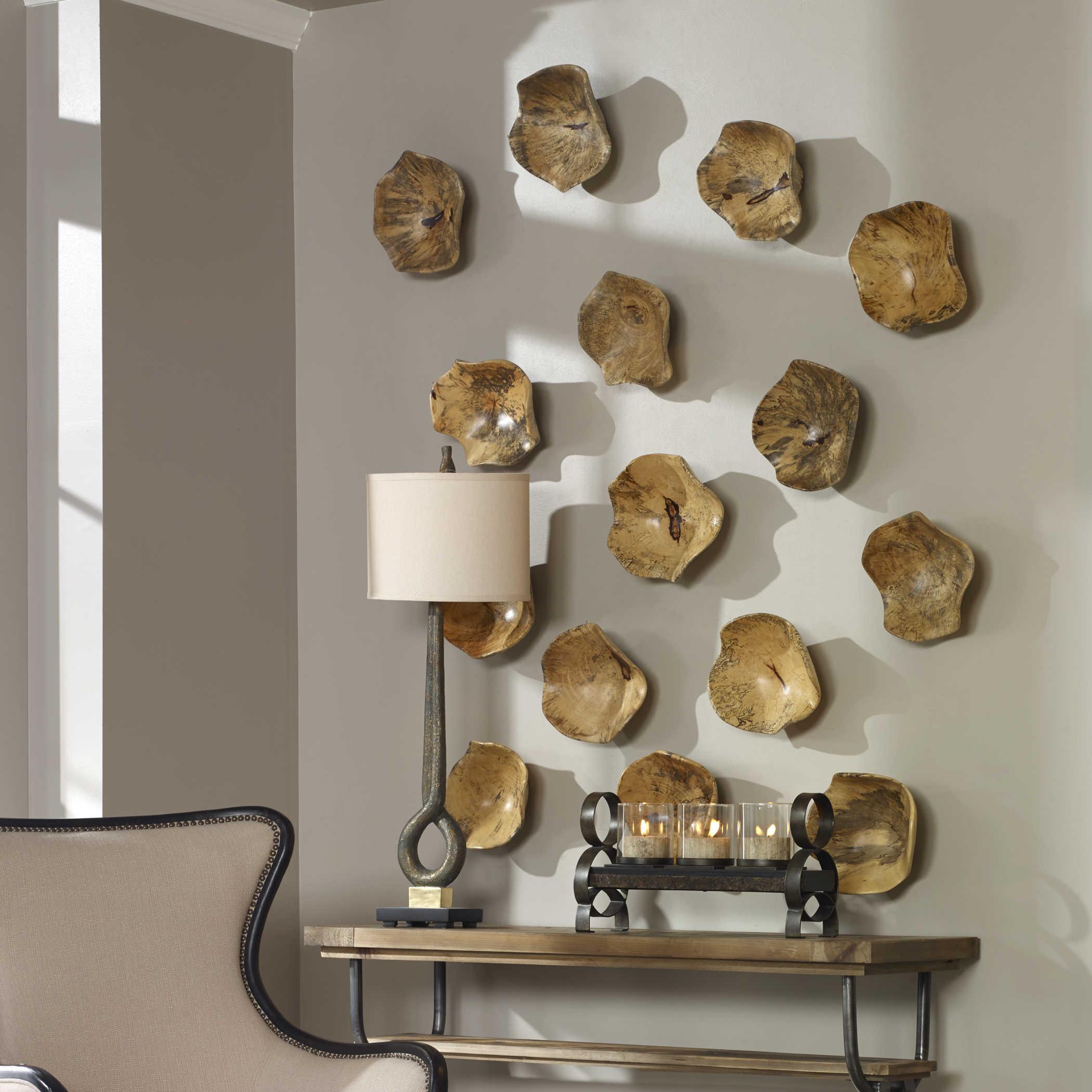 Tamarine Wood Wall Decor S 3 Uttermost