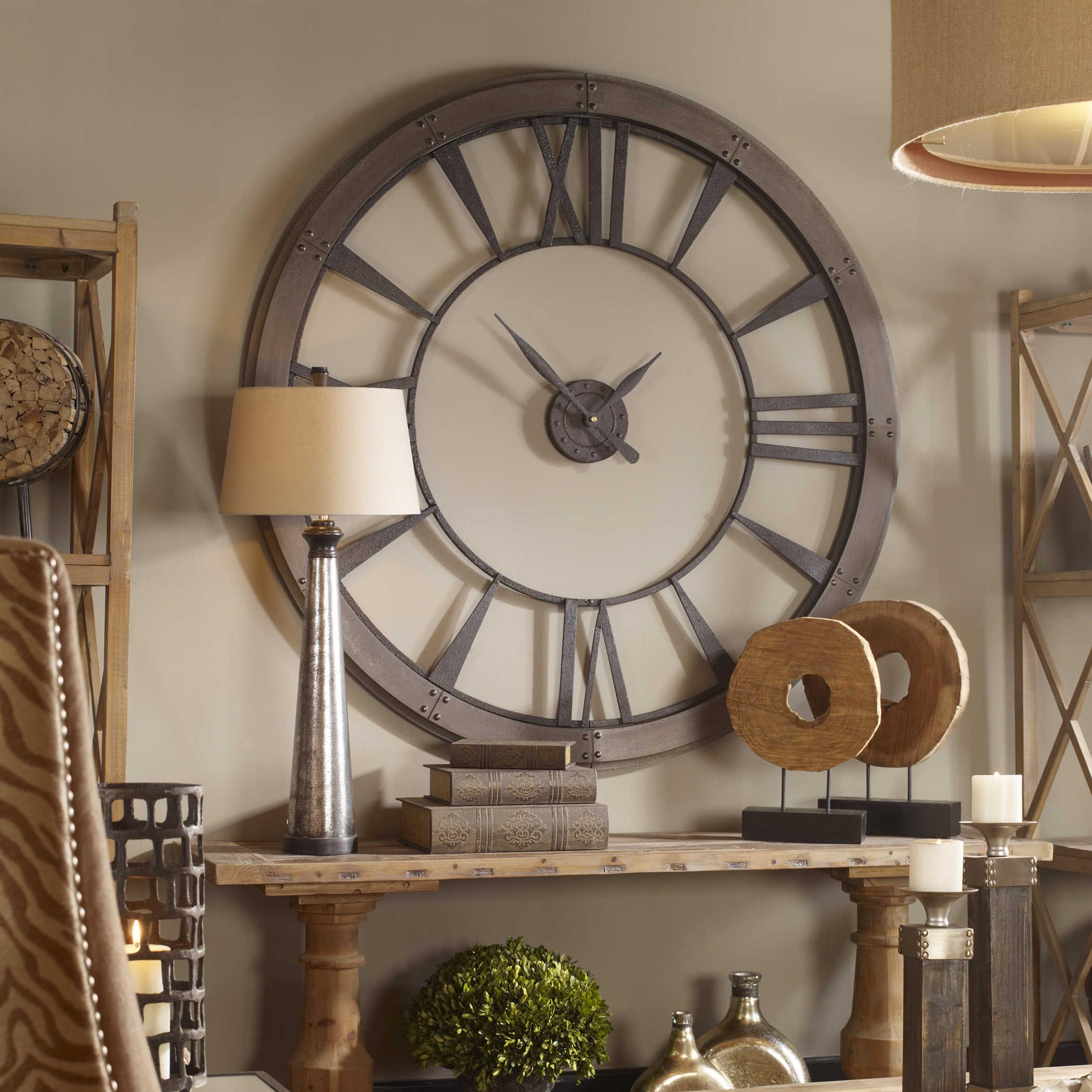 Ronan Large Wall Clock Uttermost