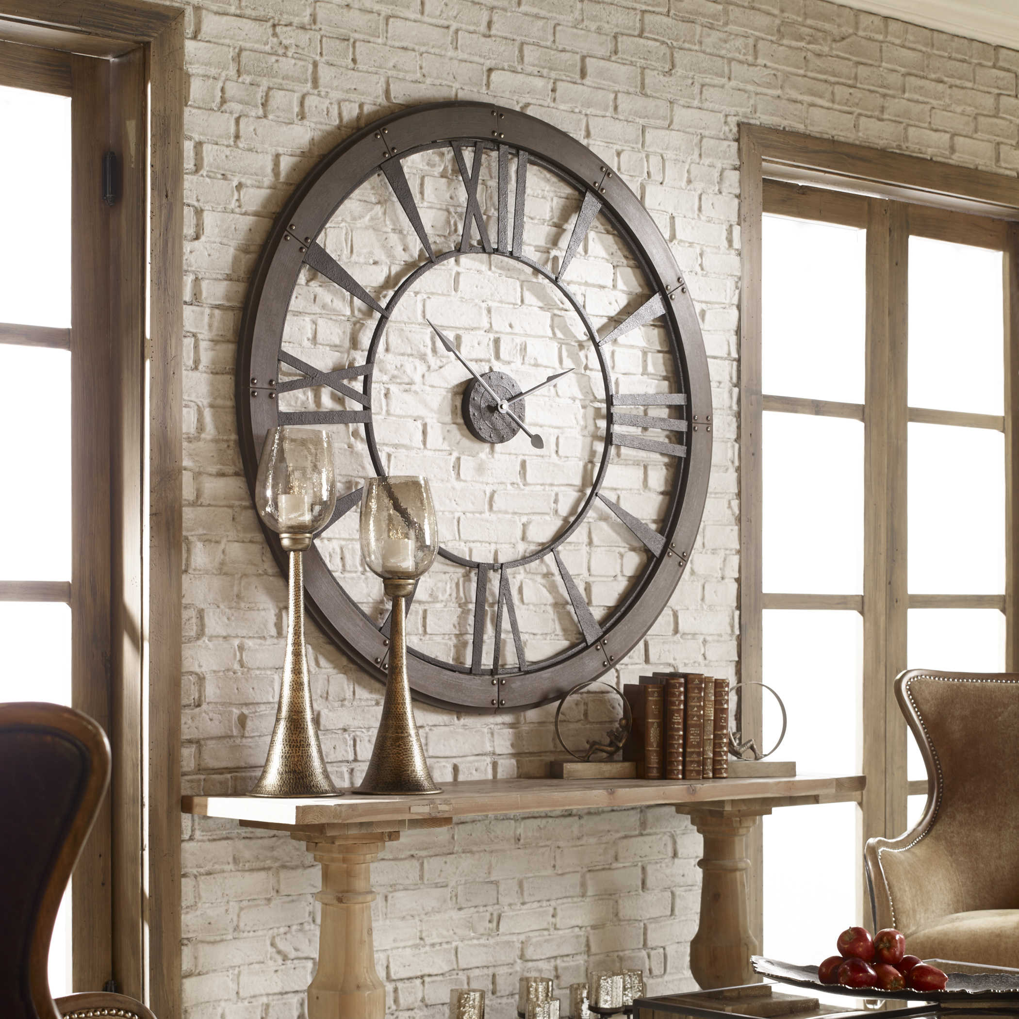 Ronan Large Wall Clock Uttermost