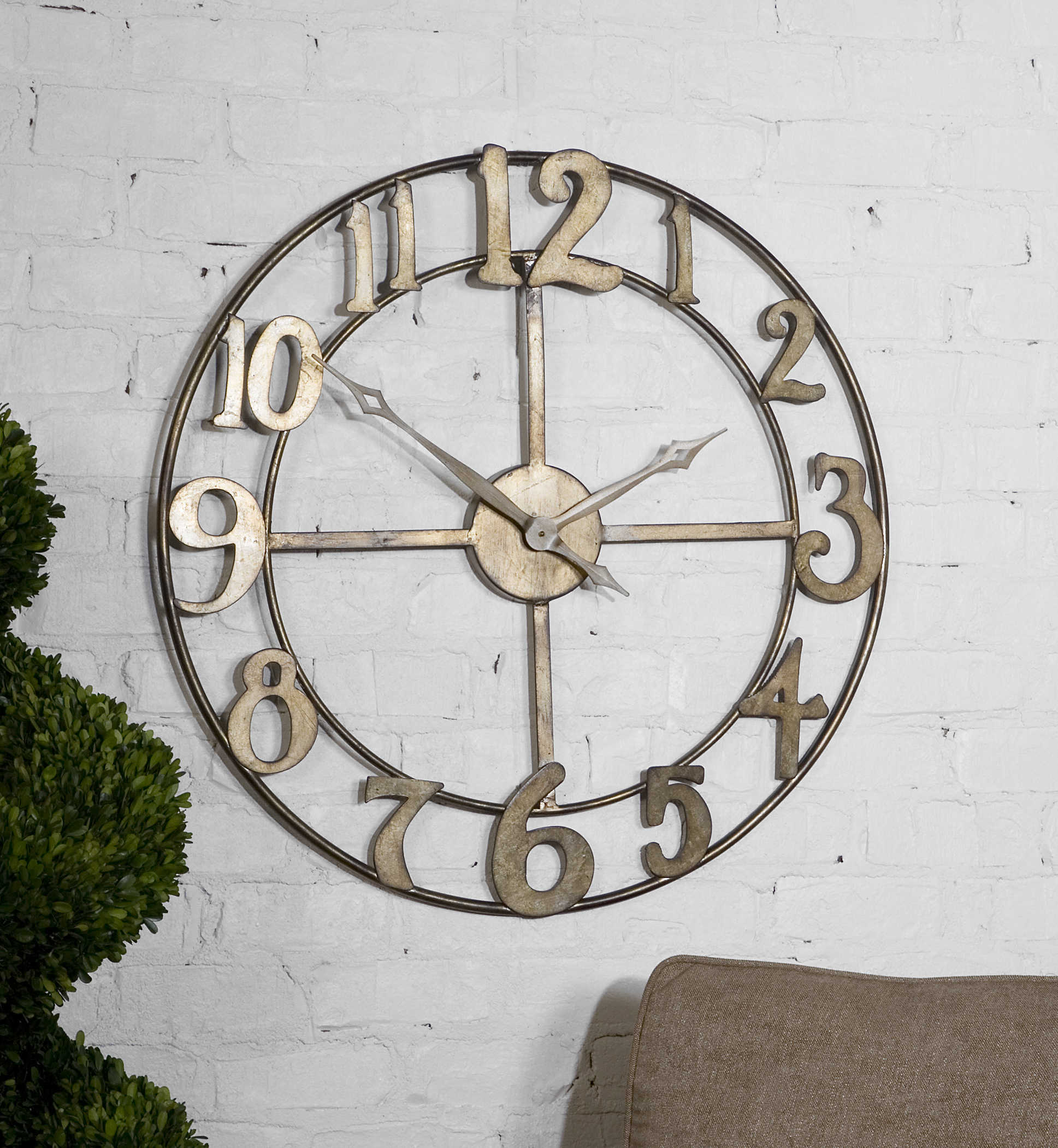 Delevan Wall Clock Uttermost