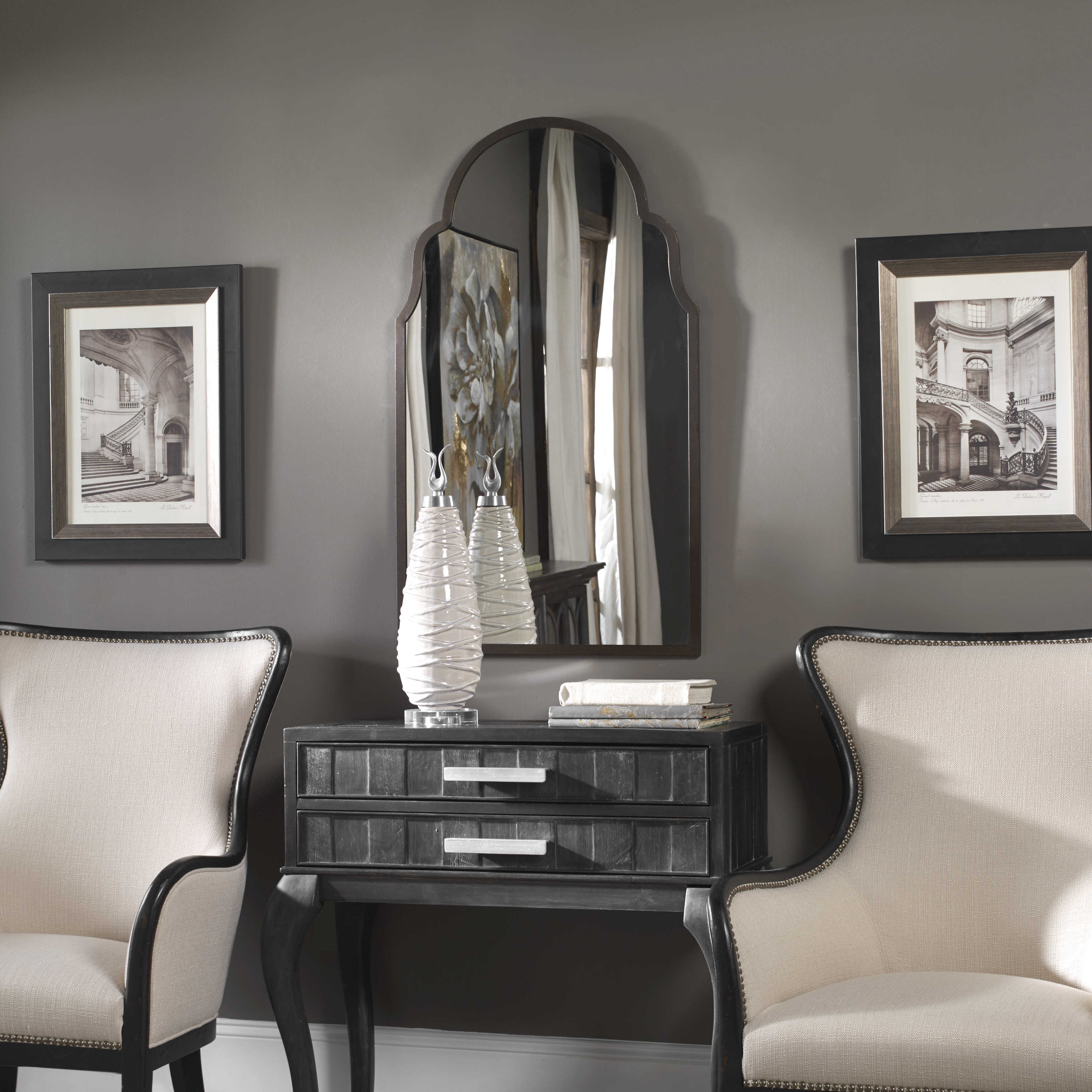 Brilliant Brayden Arch Mirror Lamtechconsult Wood Chair Design Ideas Lamtechconsultcom