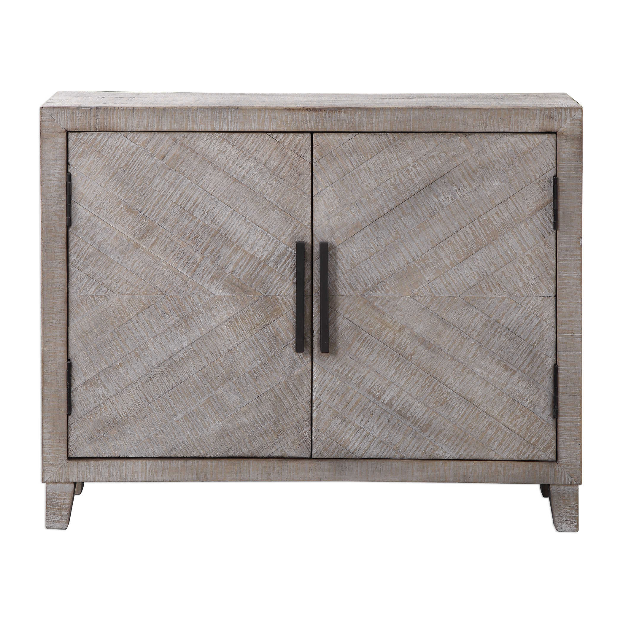 Whitewashed Cabinets: Uttermost Adalind White Washed Accent Cabinet